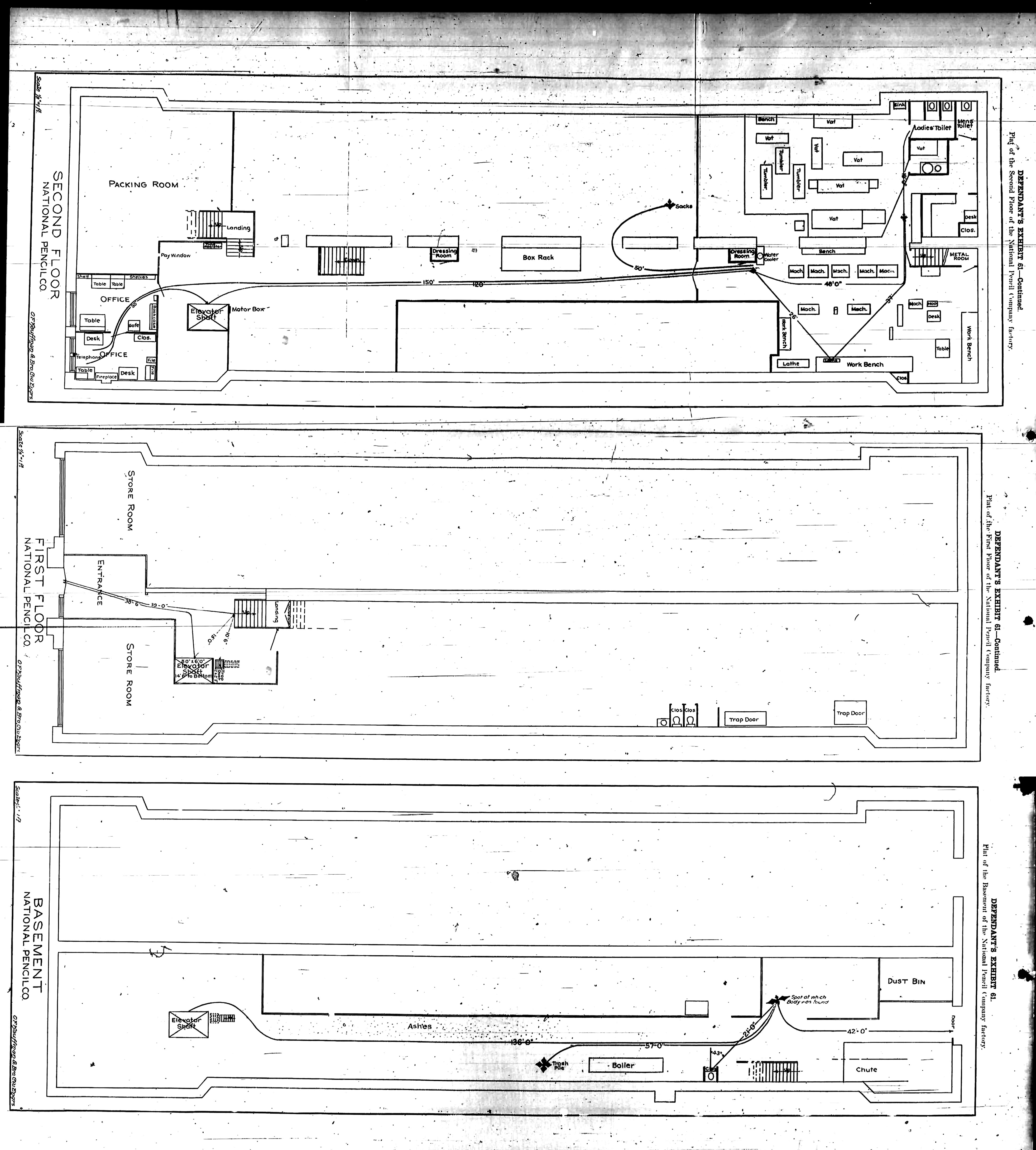 Leo frank guilty of murder part 1 floor plan of the national pencil company click for high resolution malvernweather Image collections