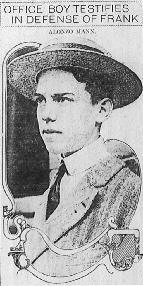 Alonzo Mann in 1913