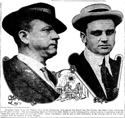 Detectives Harry Scott and John Black