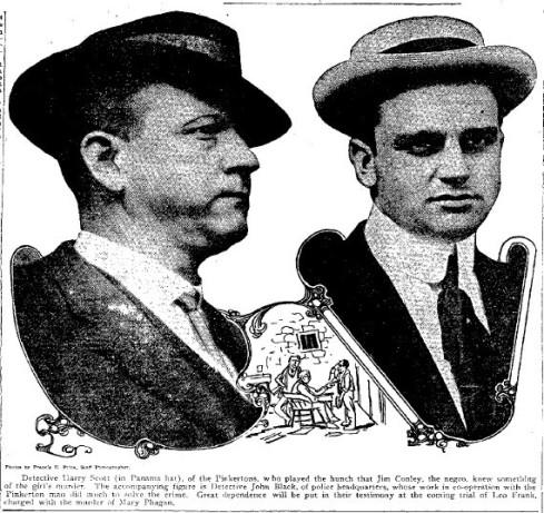 Detectives Harry Scott and John Black