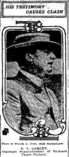 N.V. Darley, assistant superintendent under Frank