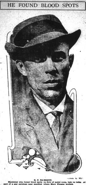 Machinist R.P. Barrett