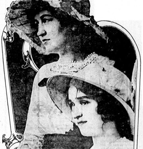 Myrtice Cato and Marie Carst