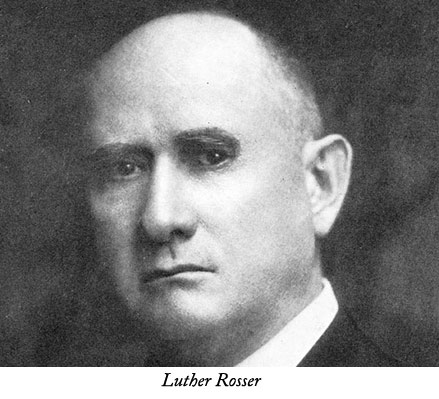 Luther--Rosser