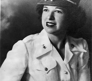 Rita Potter in the 1940s